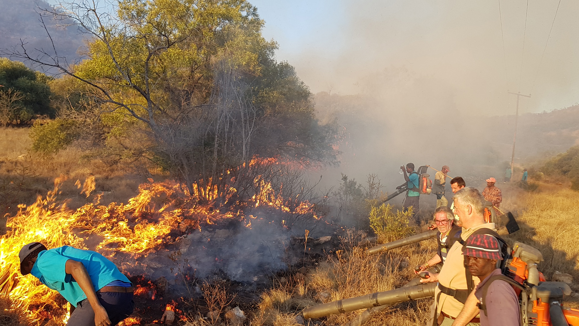 Fire Fighting in the Reserve